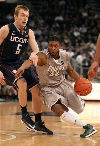 UConn defeats Providence 82-79 in overtime