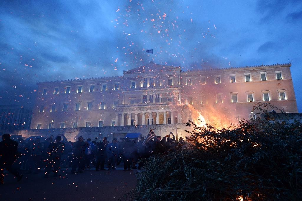 Fresh protests in Athens over pension reforms