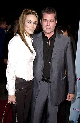 Premiere: Ray Liotta and gal at the Hollywood premiere of MGM's Heartbreakers - 3/19/2001