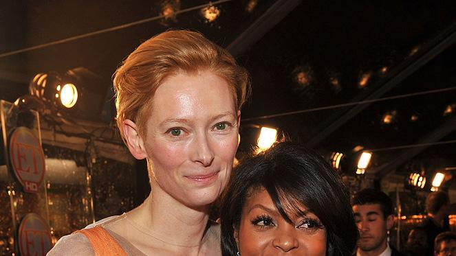 The Curious Case of Benjamin Button Premiere LA 2008 Tilda Swinton Taraji P. Henson