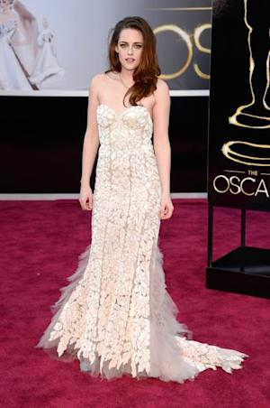 Kristen Stewart arrives at the Oscars on February 24, 2013 in Hollywood, Calif. -- Getty Premium