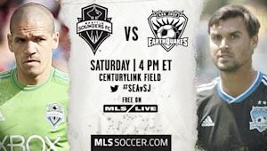 Seattle Sounders vs. San Jose Earthquakes | MLS Match Preview