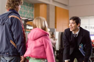 Dyllan Christopher , Dominique Saldana and Wilmer Valderrama in Warner Bros. Unaccompanied Minors