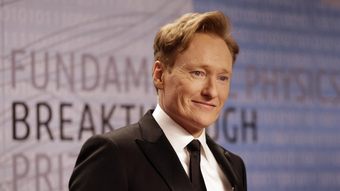 Conan O'Brien to stay up late at TBS through 2018