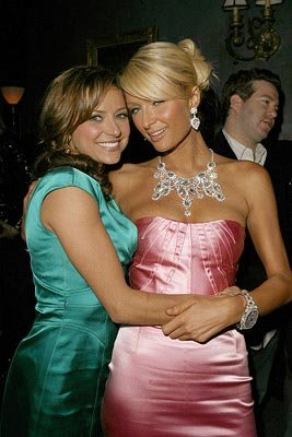 Christine Lakin and Paris Hilton at the Hollywood premiere of Regent Releasing's The Hottie and the Nottie