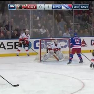 Flames at Rangers / Game Highlights