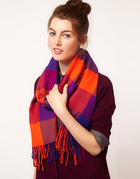 Pieces perline shop wool scarf, $17.59 at ASOS.com