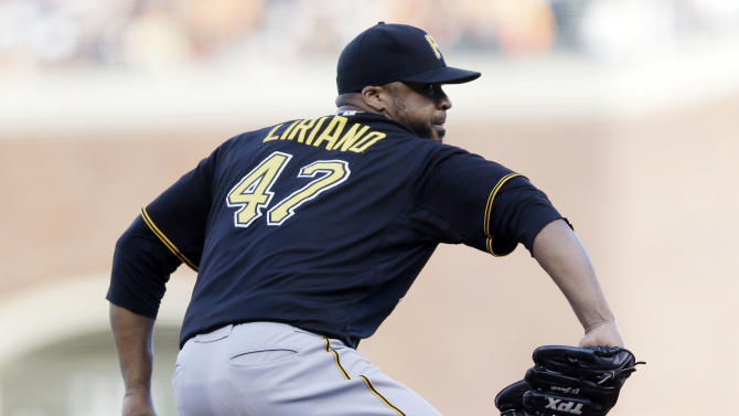 Liriano rocked early in Pirates 6-3 loss to Giants