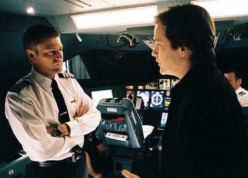 Sean Bean and Peter Sarsgaard in Touchstone Pictures' Flightplan