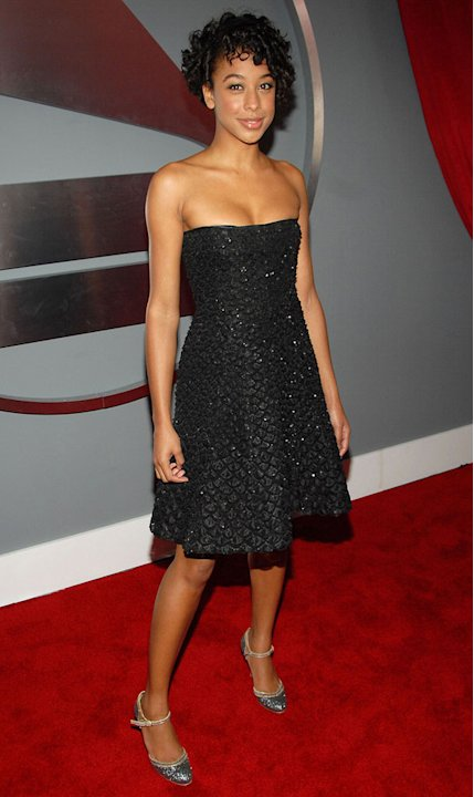 Corinne Bailey Rae at The 49th Annual Grammy Awards.