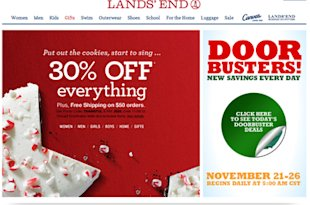 Lands' End Cyber Monday deals