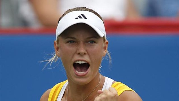 Caroline Wozniacki of Denmark (Reuters)