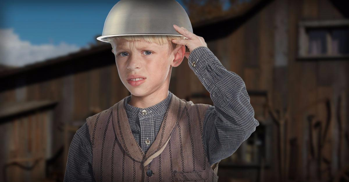 Boy, 8, confused by why parents settled for cable.