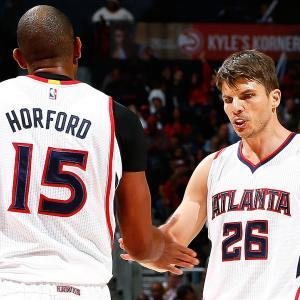 Kyle Korver on Hawks, making NBA history