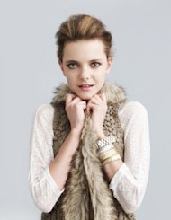 A fur vest for an edgy look.