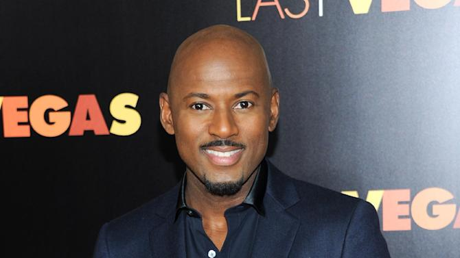 """FILE - This Oct. 29, 2013 file photo shows actor Romany Malco at the premiere of """"Last Vegas"""" at the Ziegfeld Theatre in New York. Malco stars in """"Think Like A Man Too,"""" the sequel to """"Think Like A Man"""" a film adapted from Steve Harvey's best-selling relationship advice book. (Photo by Evan Agostini/Invision/AP, File)"""