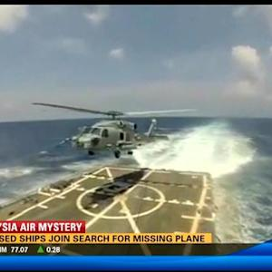 San Diego-based ships join the search for missing plane