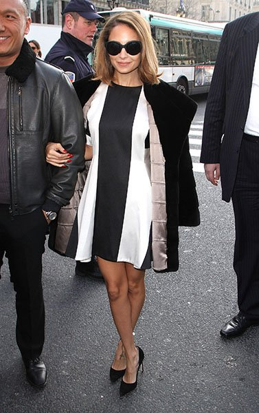 Nicole Richie in Stella McCartney