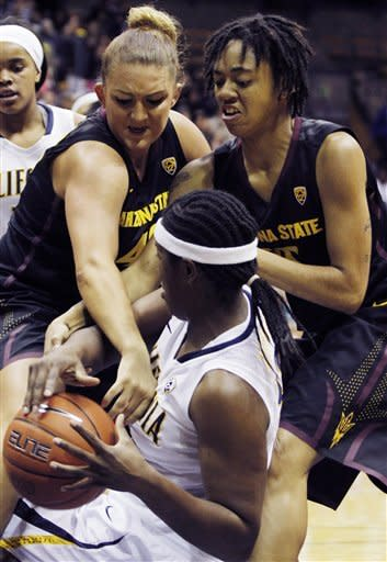 Clarendon leads No. 6 Cal women past ASU 66-53