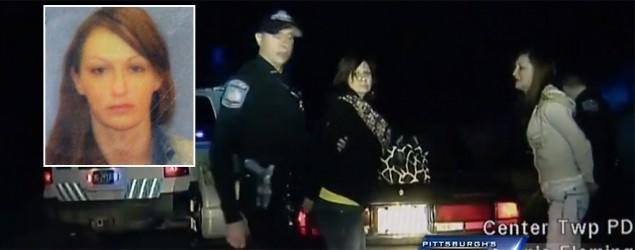 Dashcam video catches woman stealing cop car