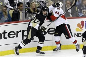 Penguins top Senators 4-1 to take series opener
