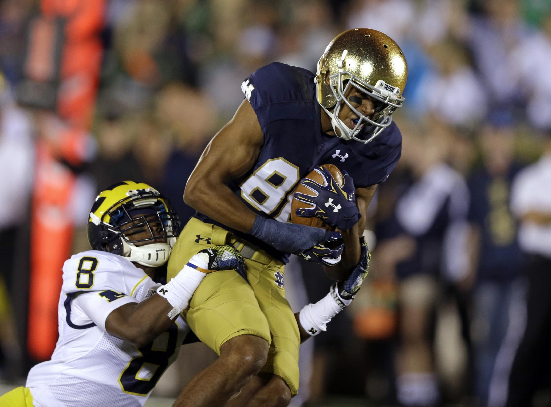 Notre Dame WR Corey Robinson wins student body president election