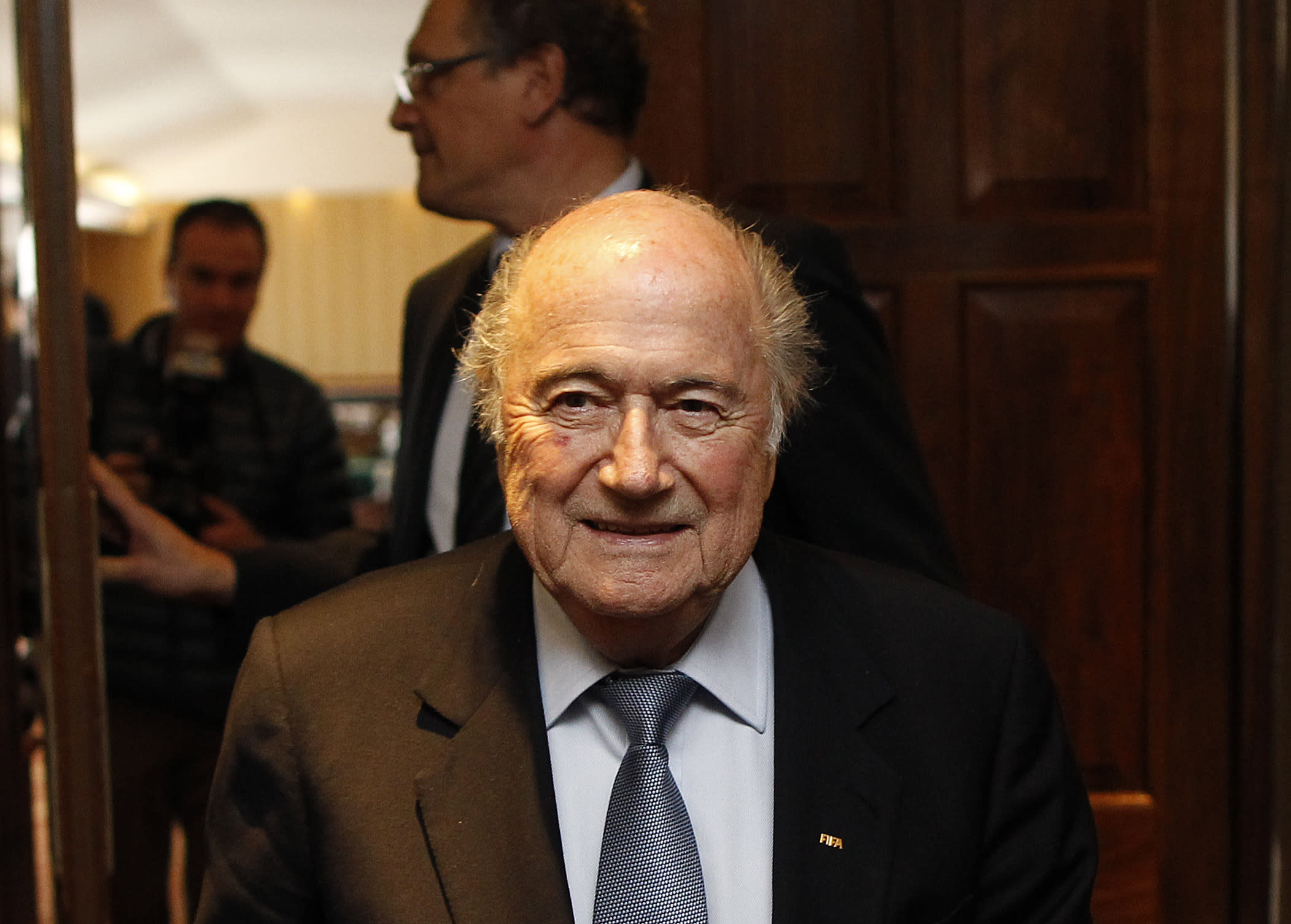 Blatter concerned by Russian soccer racism before World Cup
