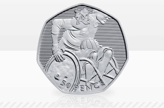 2012 Olympics wheelchair rugby 50p