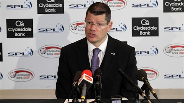 Neil Doncaster will be looking to secure a sponsorship deal for the Scottish Professional Football League