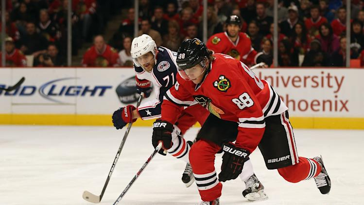 Columbus Blue Jackets v Chicago Blackhawks