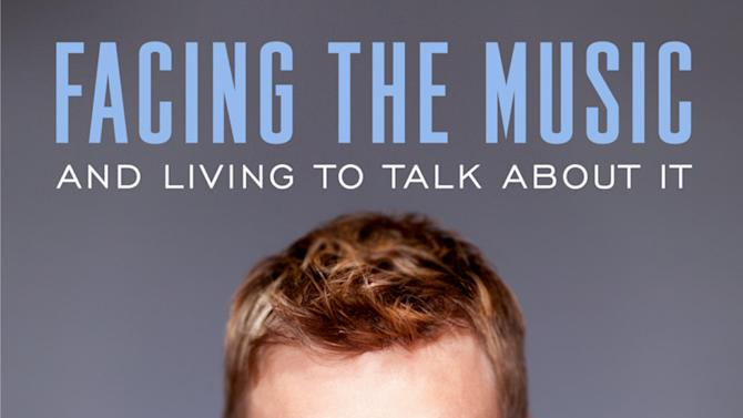 """This book cover image released by Bird Street Books shows """"Facing the Music and Living to Talk About It,"""" by Nick Carter. The Backstreet Boys singer will release a memoir, """"Facing the Music and Living to Talk About It,"""" on Sept. 24 via Bird Street Books. The 33-year-old is the first of the group to release a book. (AP Photo/Bird Street Books)"""