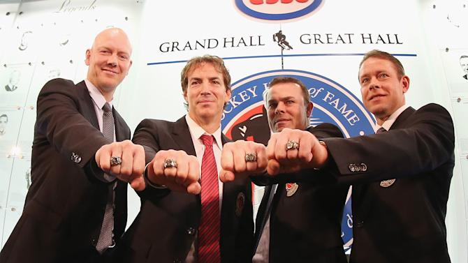 2012 Hockey Hall Of Fame Induction - Photo Opportunity