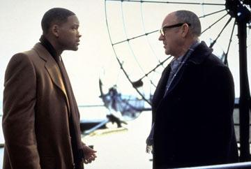 Will Smith and Gene Hackman in Touchstone Pictures' Enemy of the State