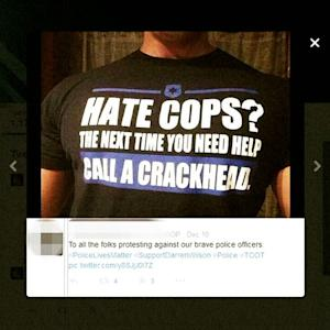 QUESTIONING THE POLICE ISN'T HATRED OF THE POLICE