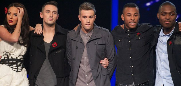 Shock as The Risk join Johnny in X factor double elimination