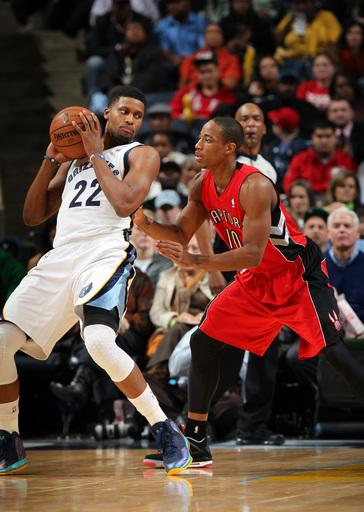 Speights scored 18 to lead Grizzlies past Raptors
