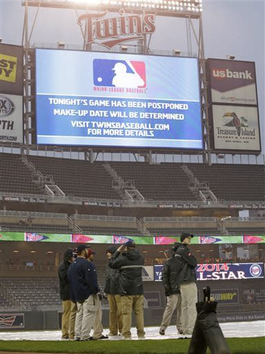 Twins game at White Sox postponed by cold weather