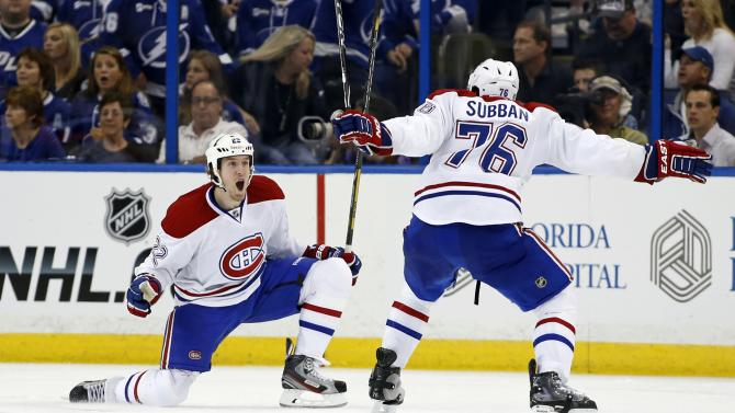 Montreal Canadiens v Tampa Bay Lightning - Game One