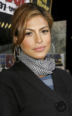 Eva Mendes at the Los Angeles premiere of Dimension Films' Grindhouse