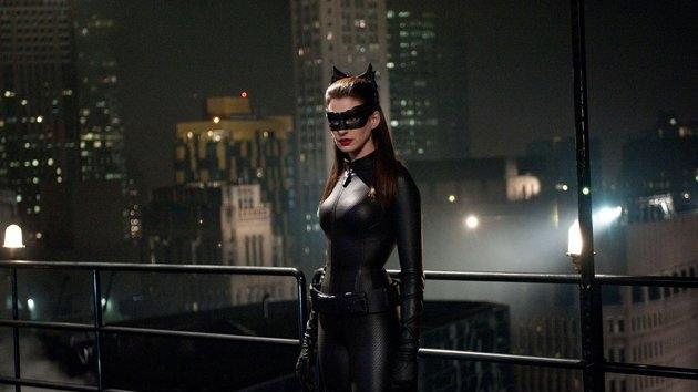 Anne Hathaway in 'The Dark Knight Rises' -- Warner Bros