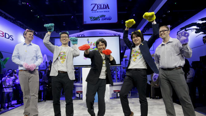 Nintendo focuses on games at E3 with new 'Mario'