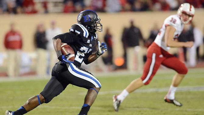 Duke's Edwards has 3 non-offensive TDs vs NC State
