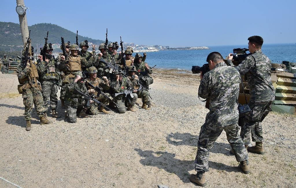 US, South Korea marines stage major landing drill