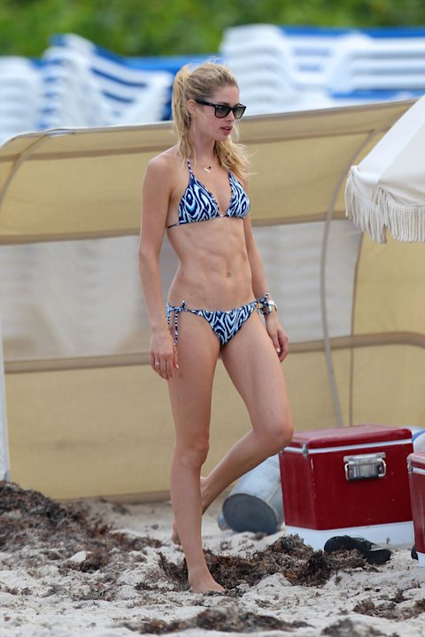 Top model Doutzen Kroes en Miami