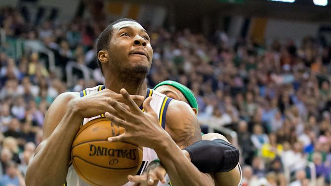 NBA: Boston Celtics at Utah Jazz