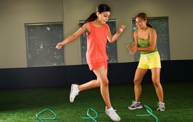 Having an exercise buddy is a great motivation to work out regularly. (Thinkstock photo)