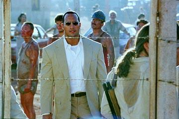 The Rock in Universal's The Rundown
