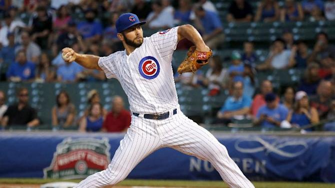 Arrieta, Cubs send Brewers to 7th straight loss