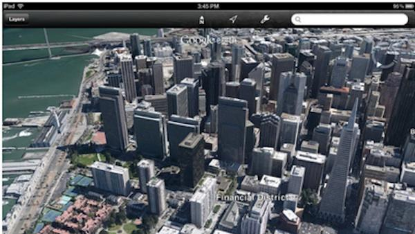 Google Earth on iPad, iPhone Now Includes 3D Images, Guided Tours