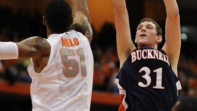 Bucknell Bison forward/center Mike Muscala (31) (Reuters)